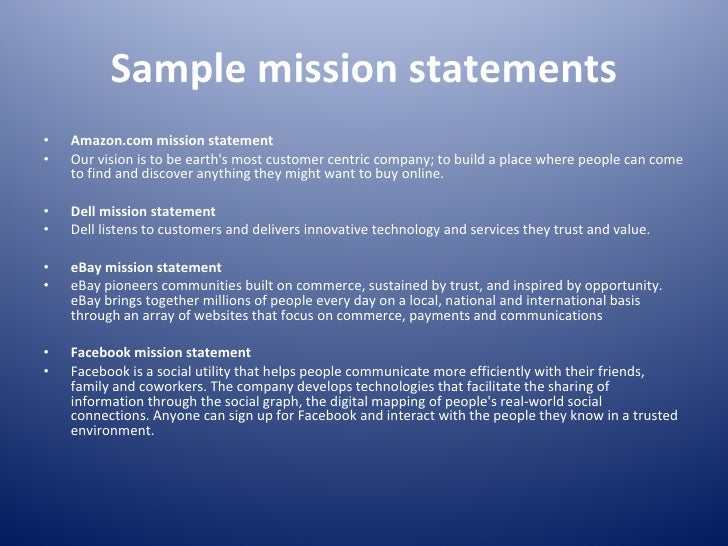 facebook mission and values