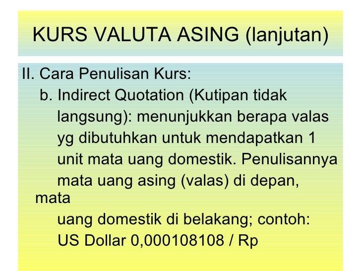 Cara berdagang valuta asing