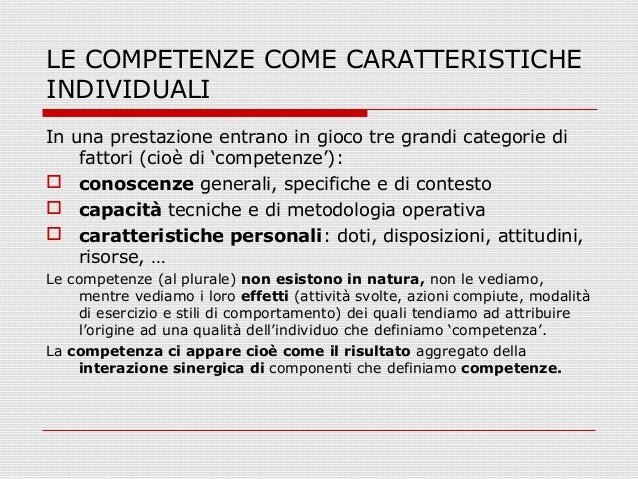 Valutare per competenze compiti autentici for All origine arredi autentici