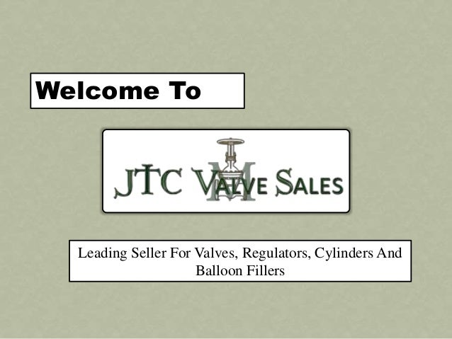 Welcome To Leading Seller For Valves, Regulators, Cylinders And Balloon Fillers