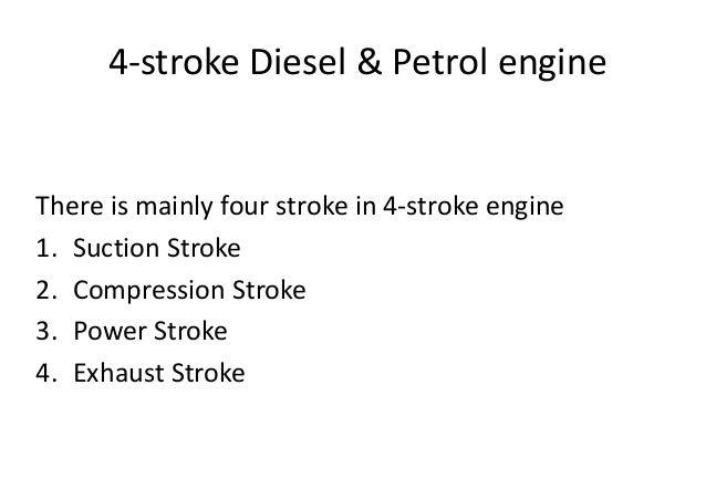 4-stroke diesel & petrol engine