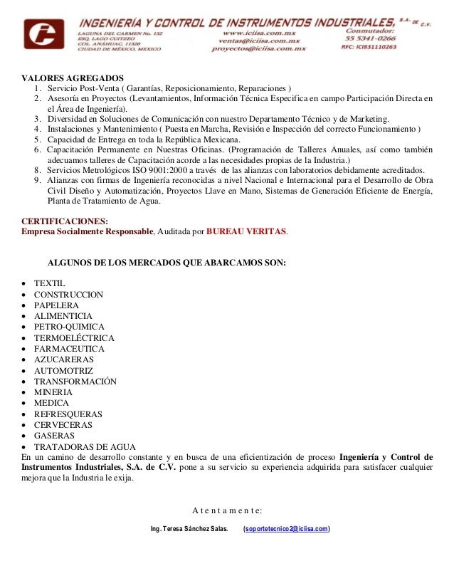 Valvulas sanitarias iciisa for Soluciones tecnico sanitarias