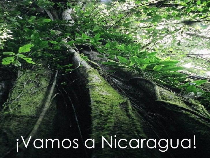 ¡Vamos a Nicaragua!