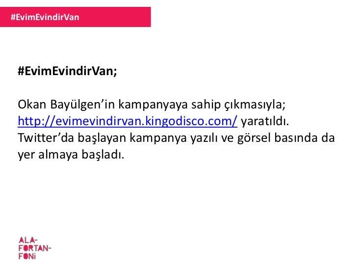 #EvimEvindirVan #EvimEvindirVan; Okan Bayülgen'in kampanyaya sahip çıkmasıyla; http://evimevindirvan.kingodisco.com/ yarat...