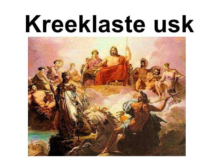 Kreeklaste usk