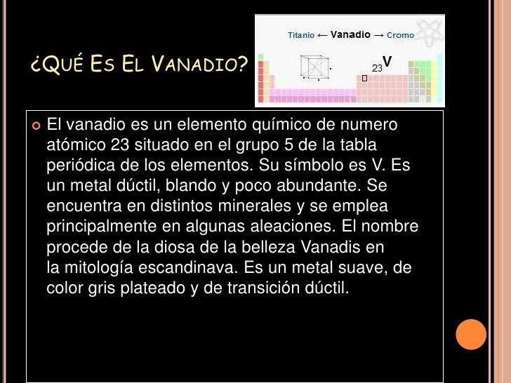 Vanadio vanadioeritronio 2 urtaz Image collections