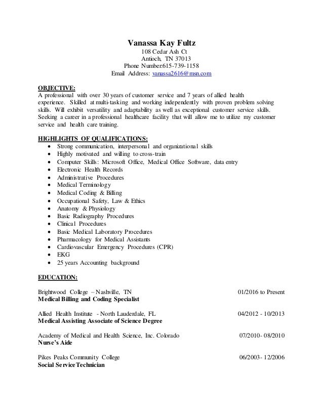 Awesome Nashville Accounting Resume Images - Administrative Officer ...