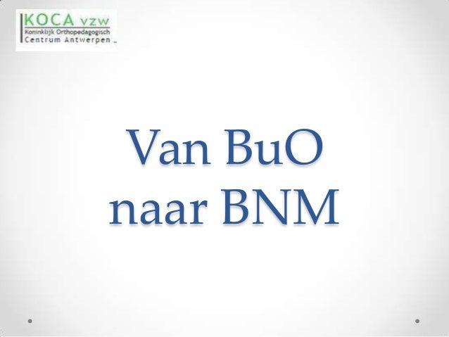 Van BuOnaar BNM