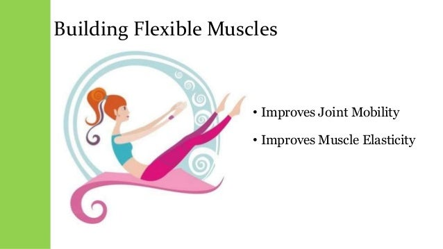 Building Flexible Muscles • Improves Joint Mobility • Improves Muscle Elasticity