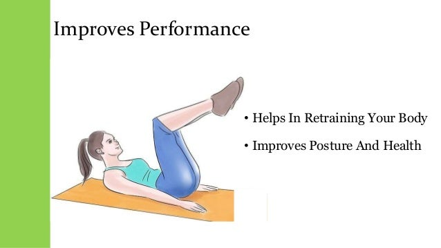 Improves Performance • Helps In Retraining Your Body • Improves Posture And Health