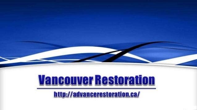 Vancouver Restoration