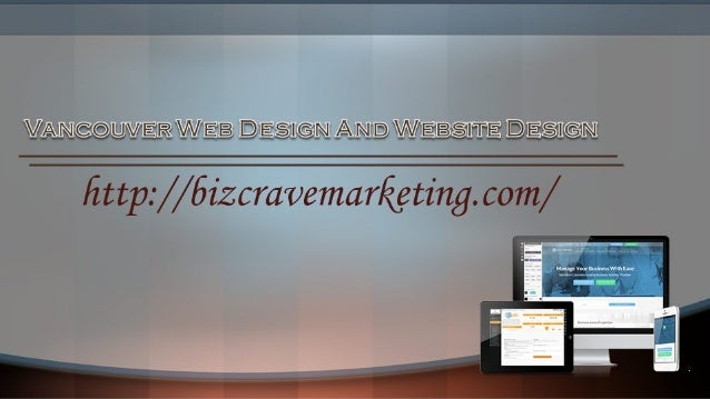 Vancouver Web Design And Website Design