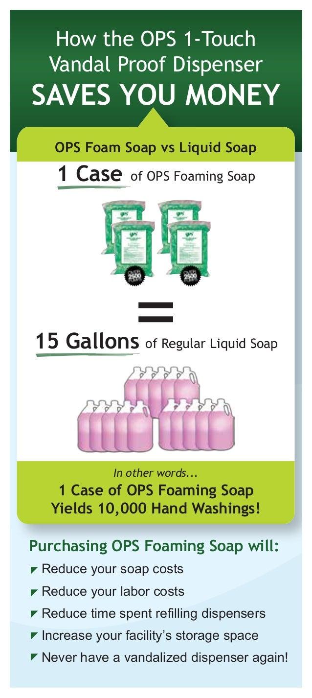 Indestructible Vandal Proof Soap Dispenser Brochure