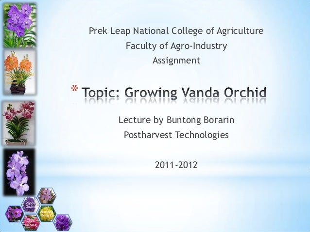 Prek Leap National College of Agriculture                               Faculty of Agro-Industry                          ...
