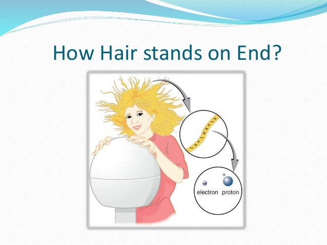 Electrostatic van de graaff generator how hair stands on end ccuart Images