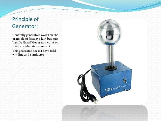 electrostatic Van de graaff generator