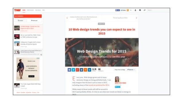 Device Sensitive Web Design