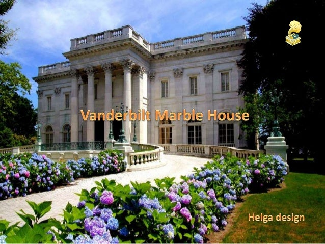 Marble House was built at a reported cost of $10 million as a birthday present for Alva Smith, William K. Vanderbilt's fir...