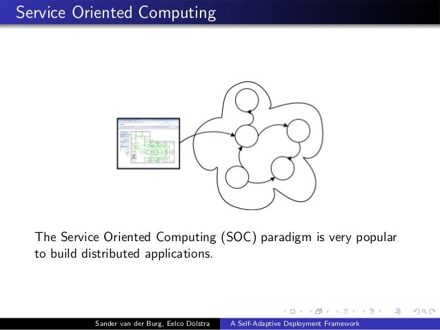 Service Oriented Computing The Service Oriented Computing (SOC) paradigm is very popular to build distributed applications...
