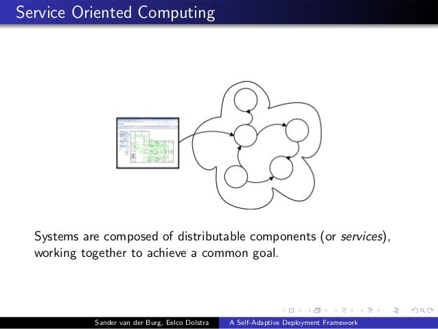 Service Oriented Computing Systems are composed of distributable components (or services), working together to achieve a c...