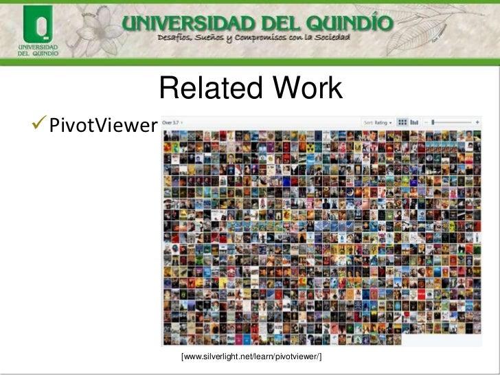 Related WorkPivotViewer               [www.silverlight.net/learn/pivotviewer/]