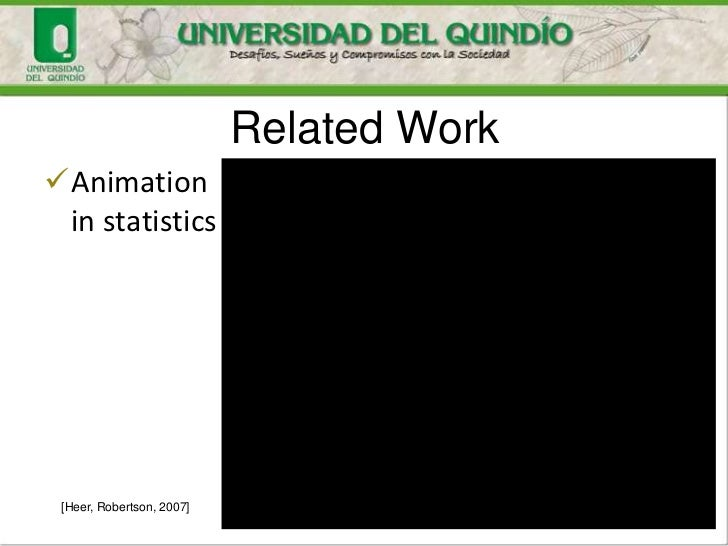Related WorkAnimation in statistics [Heer, Robertson, 2007]