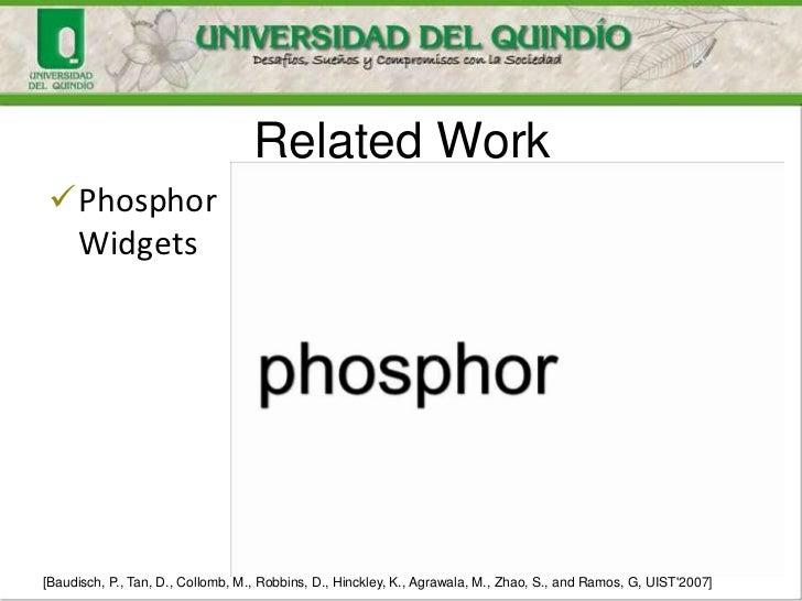 Related WorkPhosphor Widgets[Baudisch, P., Tan, D., Collomb, M., Robbins, D., Hinckley, K., Agrawala, M., Zhao, S., and R...