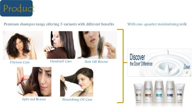 Product Premium shampoo range offering 5 variants with different benefits Dryness Care Nourishing Oil CareSplit end Rescue...
