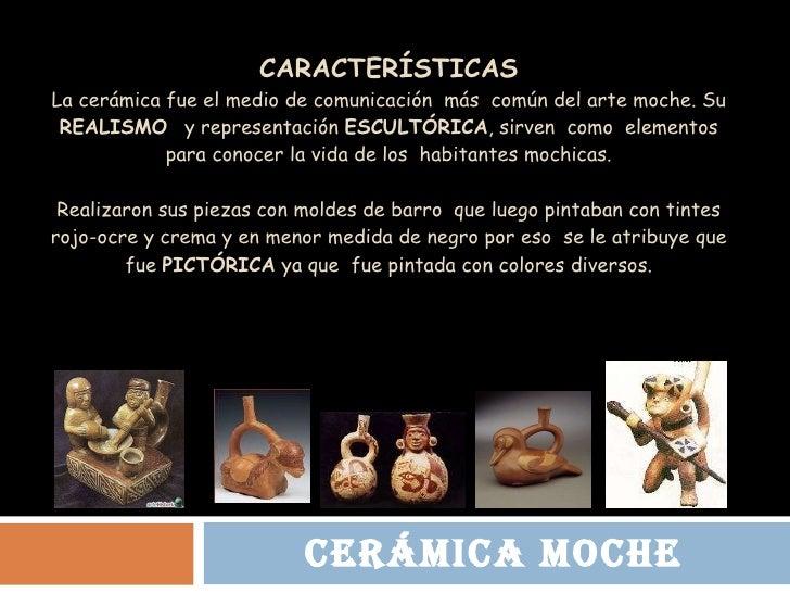 Cer mica moche for Concepto de ceramica