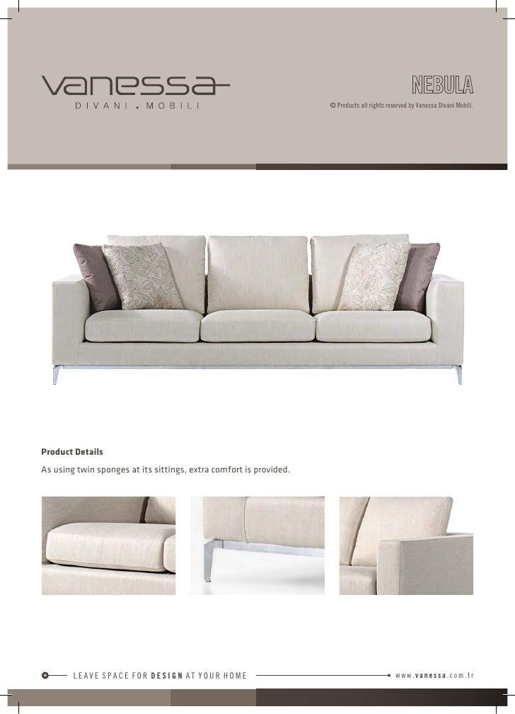 vanessa divani mobili 2012