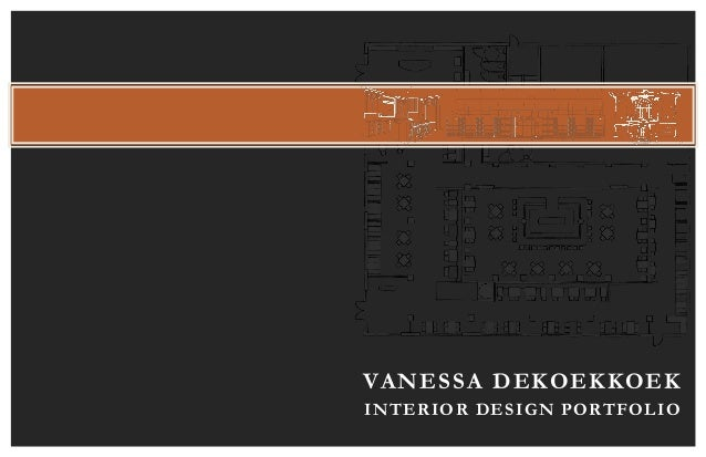 Interior design portfolio by vanessa dekoekkoek for Interior design portfolio layout ideas