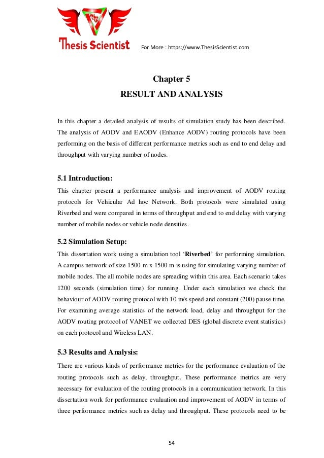 Vanet master thesis dissertation projects in education