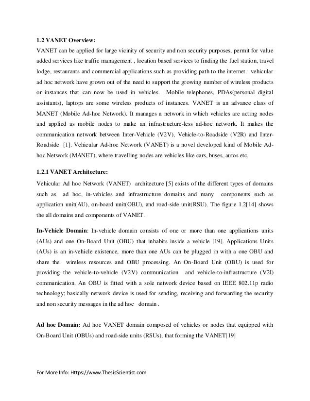 thesis on aodv Iii optimized aodv with modified metric i have examined the final copy of this thesis for form and content and recommend that it be accepted in partial fulfillment of the requirement for the degree of master of.