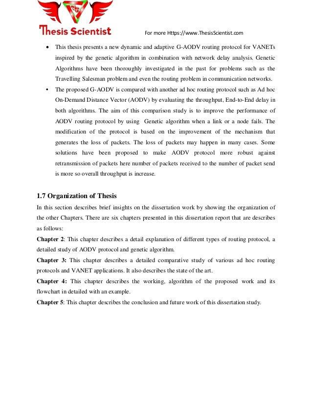 Vanet master thesis