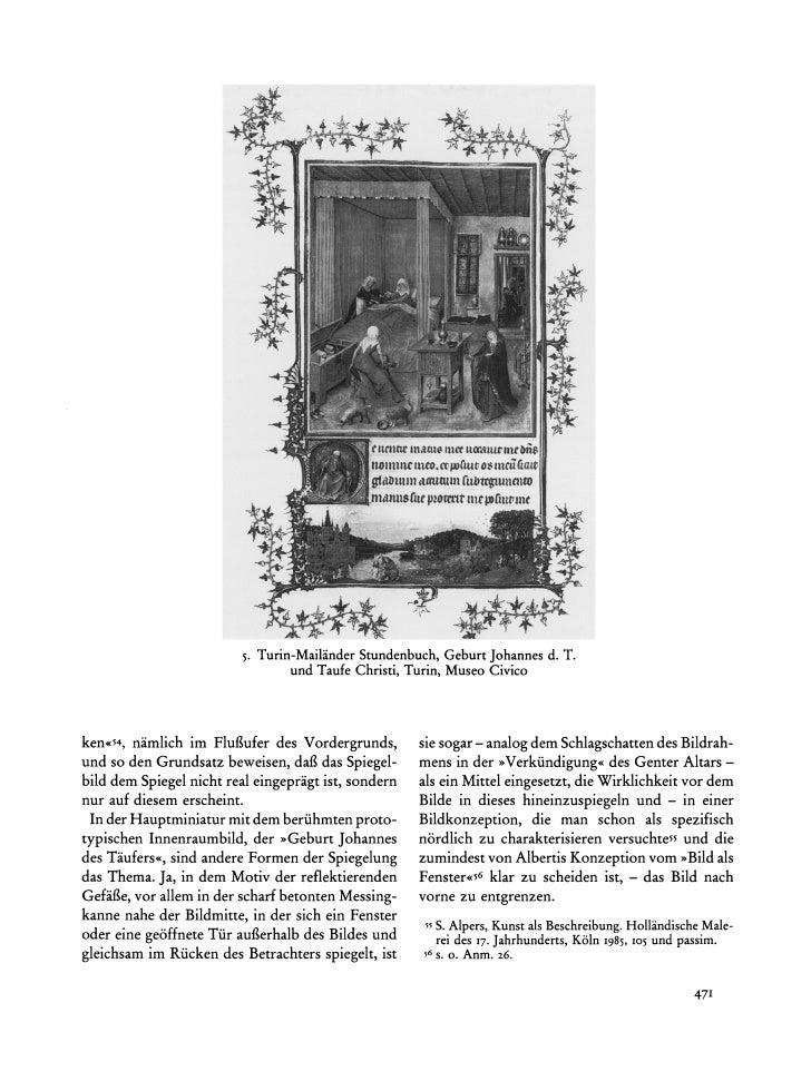 5. Turin-Mailander                                           Stundenbuch,  GeburtJohannesd. T.                            ...