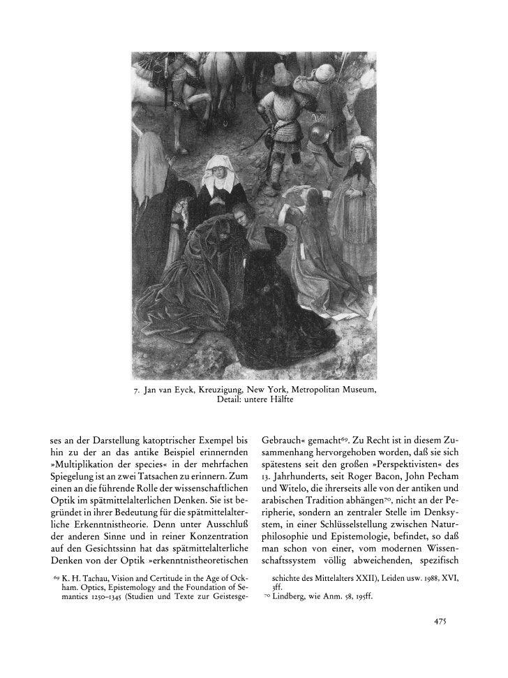 7. Jan van Eyck, Kreuzigung,New York, MetropolitanMuseum,                                              Detail:untereHalfte...