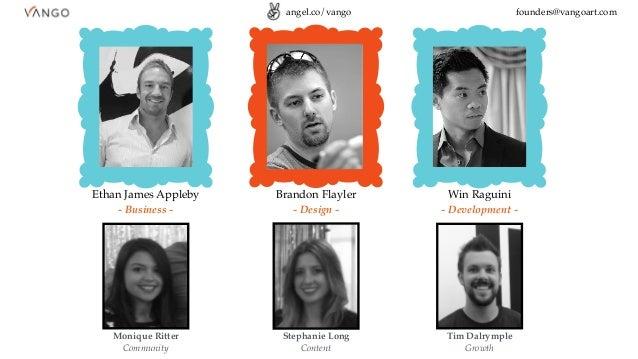 Win Raguini - Development - Brandon Flayler - Design - Ethan James Appleby - Business - Monique Ritter Community Stephanie...