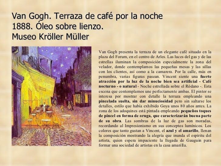 Van gogh for Terraza significado