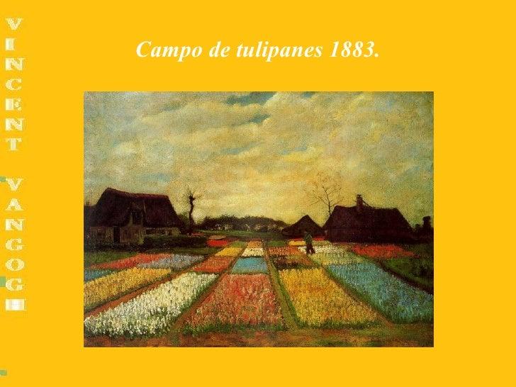 Campo de tulipanes 1883.