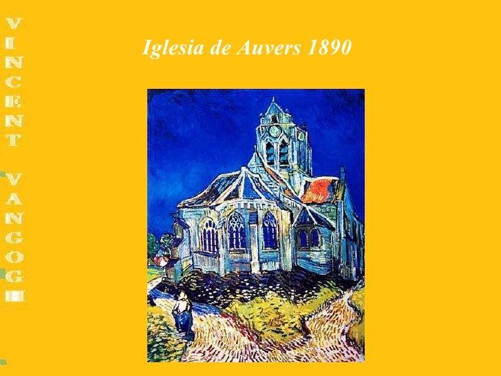 Iglesia de Auvers 1890