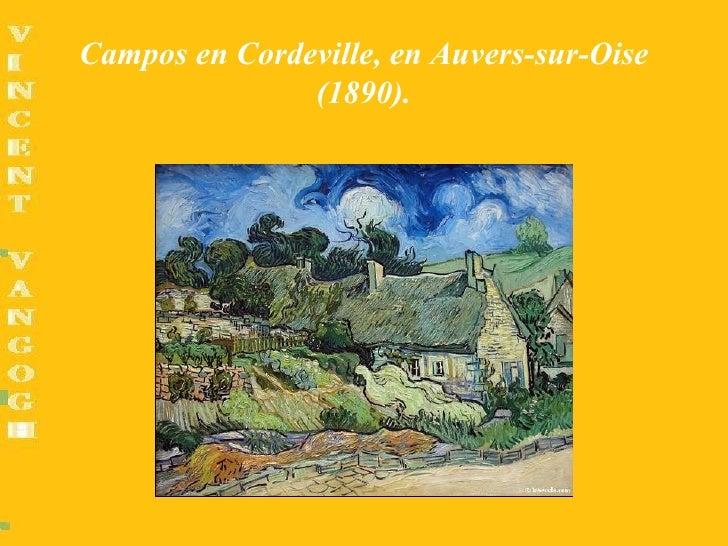 Campos en Cordeville, en Auvers-sur-Oise               (1890).