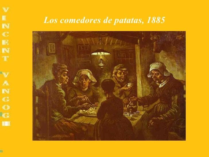 Los comedores de patatas, 1885