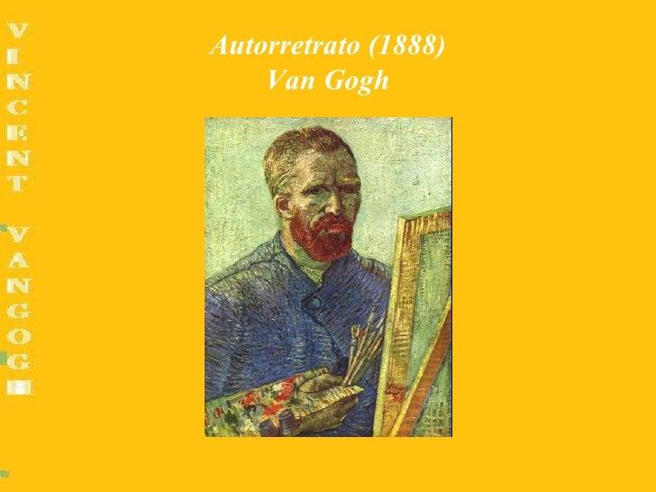 Autorretrato (1888)    Van Gogh