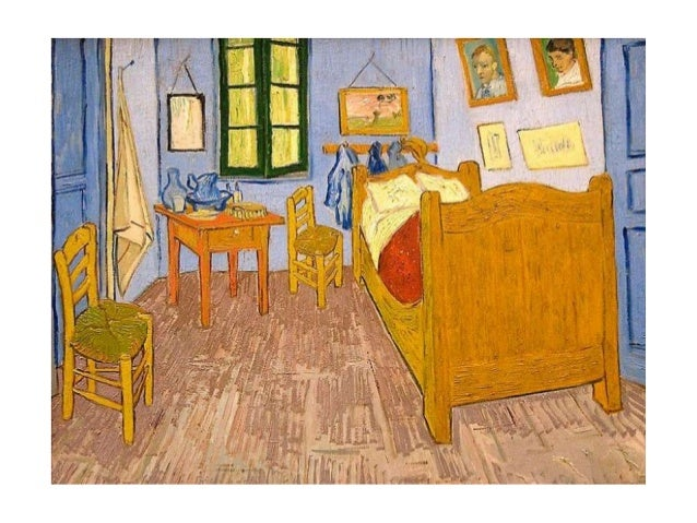 La camera da letto, Vincent Van gogh