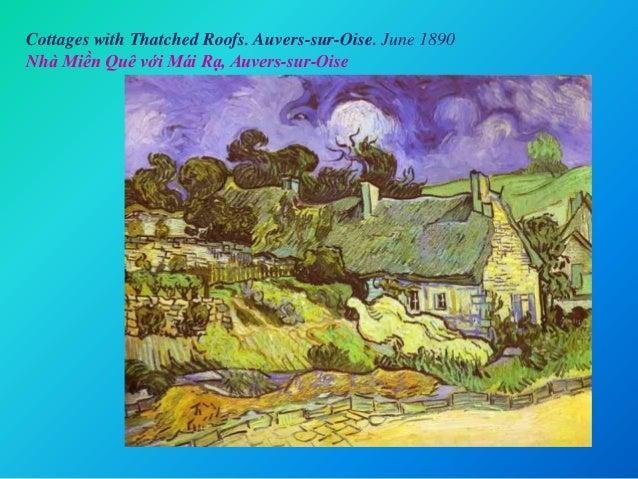 Cottages with Thatched Roofs. Auvers-sur-Oise. June 1890 Nhà Miền Quê với Mái Rạ, Auvers-sur-Oise