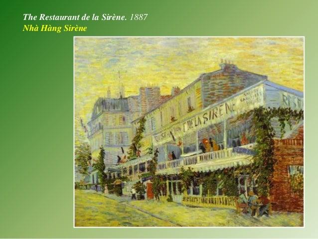 The Restaurant de la Sirène. 1887 Nhà Hàng Sirène