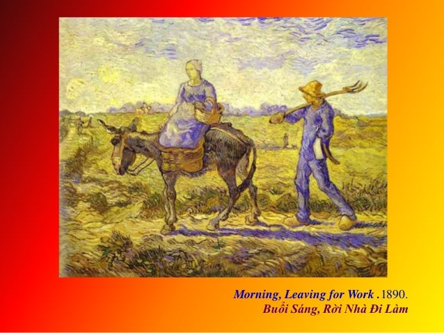 Morning, Leaving for Work .1890. Buổi Sáng, Rời Nhà Đi Làm