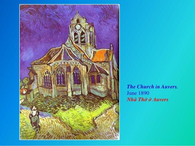 The Church in Auvers. June 1890 Nhà Thờ ở Auvers