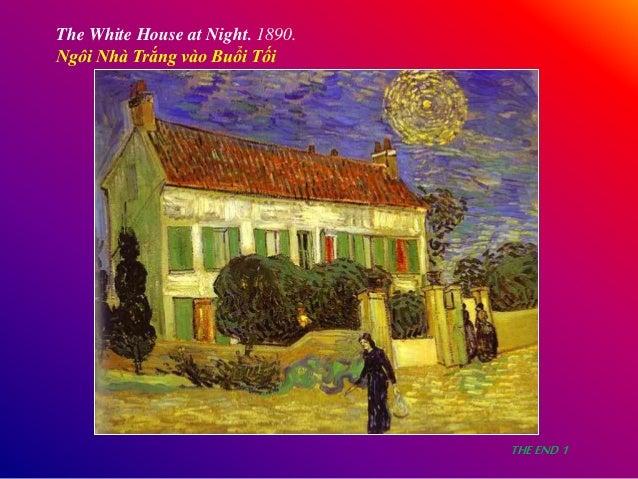 The White House at Night. 1890. Ngôi Nhà Trắng vào Buổi Tối THEEND1