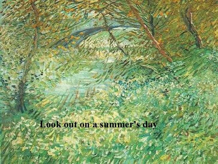 A canção de Van Gogh Slide 3